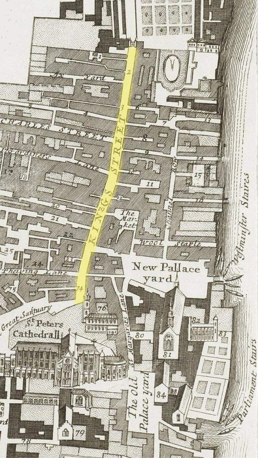 King Street, Westminster (c.1720)