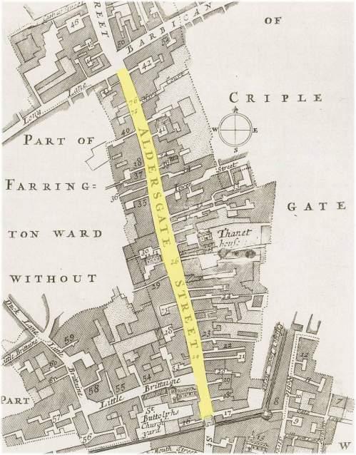 ldersgate Street (c.1720)