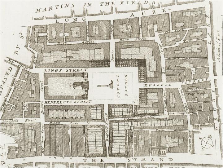 Covent Garden (c.1720)
