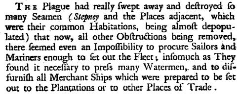 Plague in Stepney