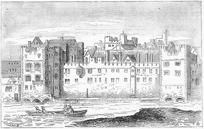 The Savoy Hospital c.1650