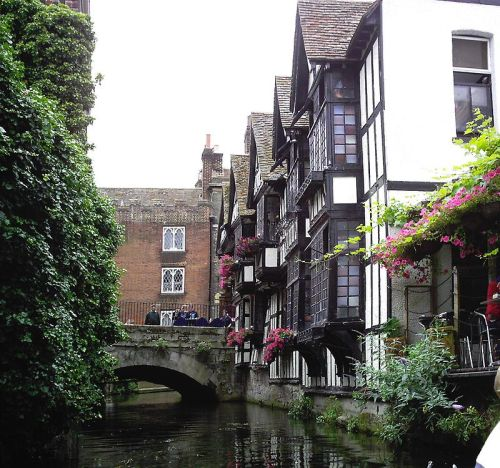 The early 16th century Weaver's House in Canterbury was once occupied by Huguenot weavers and remains as a permanent reminder of the City's history with French Protestant refugee community