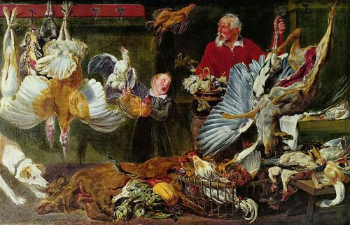 A 17th Century Poulterer's Shop - By Frans Snyders (1579–1657)